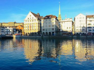 Zurich. We've been here many times. A very nice city and scene of one of the most hilarious business trips I've ever been on!