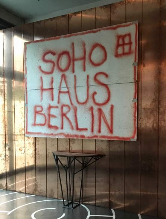 Soho House Berlin. The scene of our drinks party for our clients at the CTM conference, 2016.