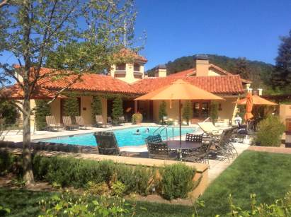 Yountville, Napa Valley. Well you can't work all the time, can you? A day off after working in San Francisco.