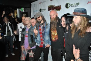 Rob Zombie and Five Finger Death Punch Mayhem Festival Press Conference