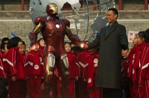 Iron Man 3 China Scene