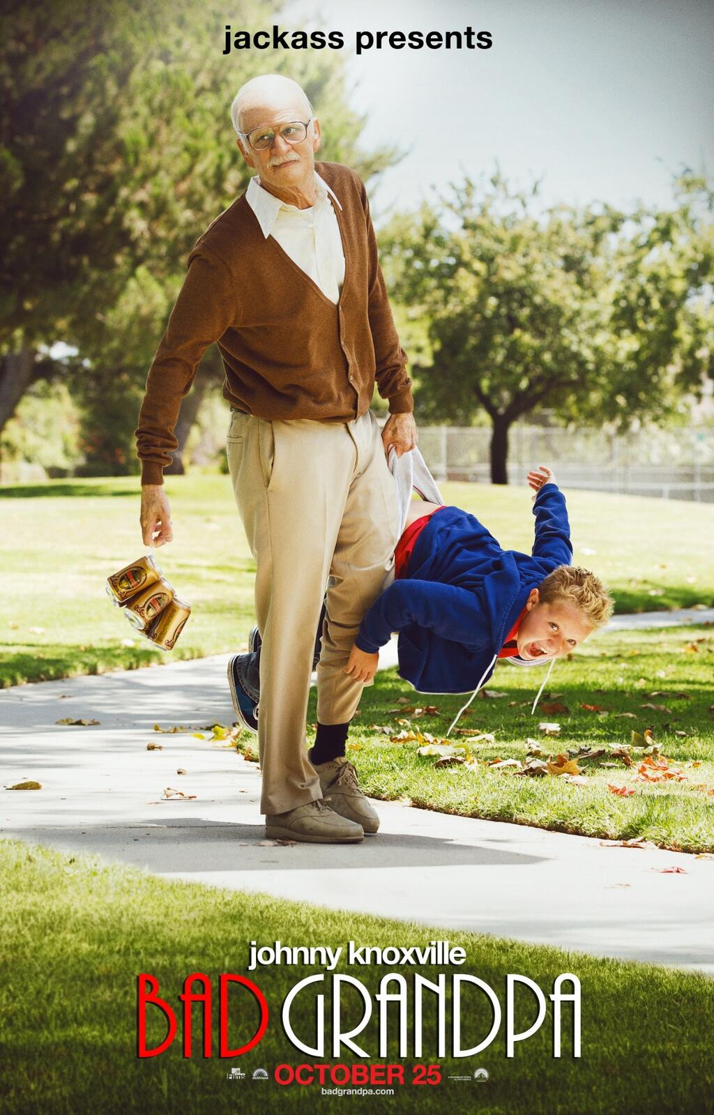 """SEE """"JACKASS PRESENTS: BAD GRANDPA IN THEATERS AGAIN WITH A"""