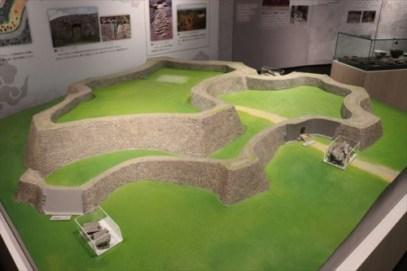 座喜味城跡模型