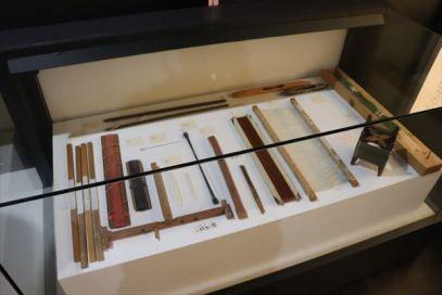 製作道具の展示
