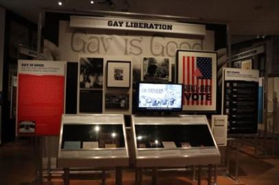 LGBTに関する展示もあります