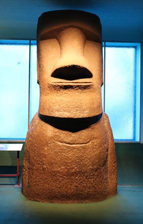 モアイ像は「ナイト ミュージアム」にも登場していました