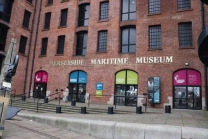 マージーサイド海事博物館。国際奴隷博物館も同じ建物内