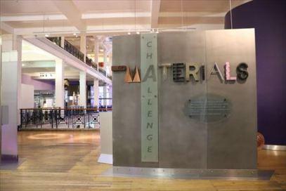 材料工学の展示コーナー