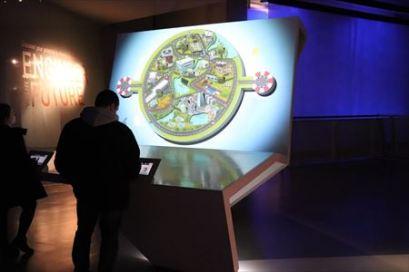 インタラクティブな展示が積極的に取り入れられています