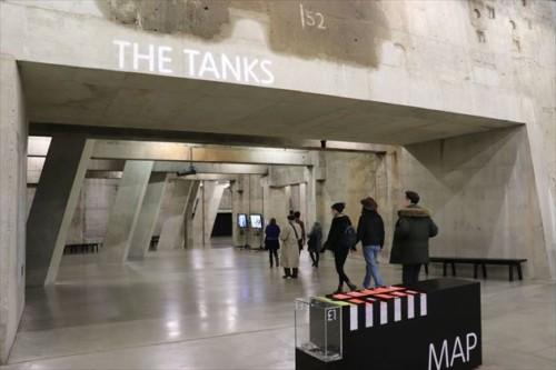ザ・タンク(The Tanks)の入り口