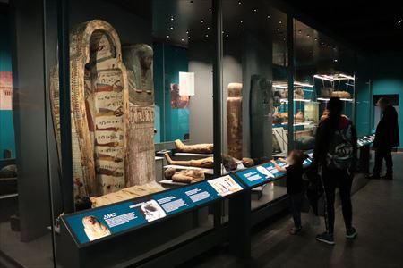 エジプト考古学の展示が充実していました