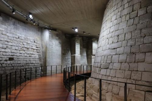 城壁だったころの遺構