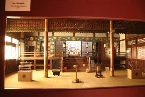 日本のお寺のようです
