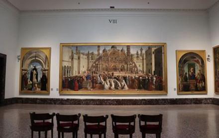 ジェンティーレとジョヴァンニのベリーニ兄弟による「アレクサンドリアにおける聖マルコの説教」