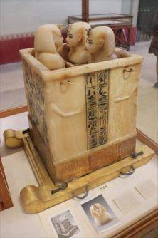 カノープスの壺。ツタンカーメンの内臓がおさめられていたとか