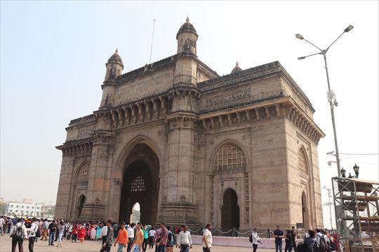 ムンバイの象徴「インド門」