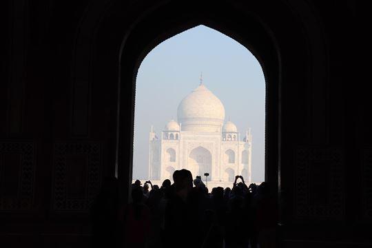 大楼門からの眺め