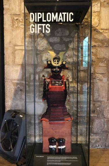 徳川家から贈られた甲冑