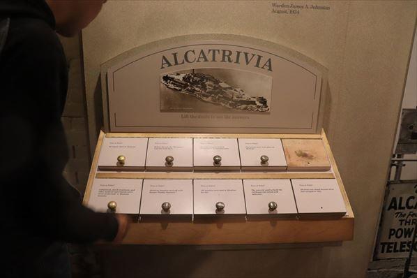 アルカトラズに関するトリビア・クイズ