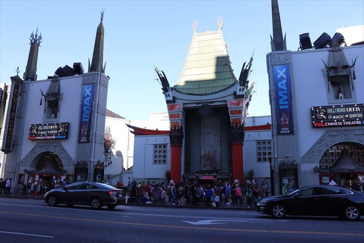 ハリウッドといえば「チャイニーズ・シアター」