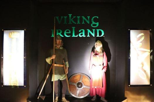 北海周辺国のお約束・バイキングに関する展示