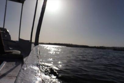 小舟からの風景