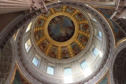 天井のドーム部分