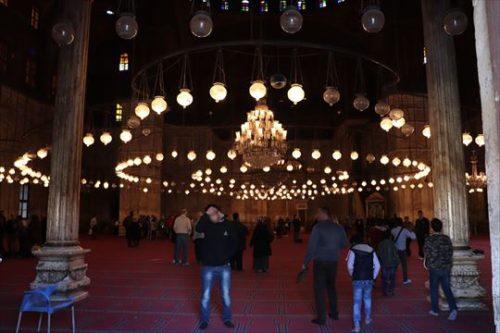 モスク内部