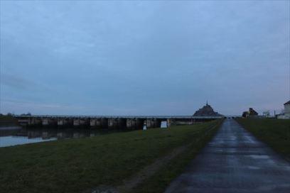 水門とモン・サン・ミッシェル