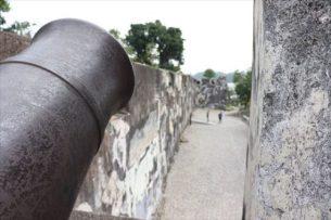 この大砲、射程距離はどれぐらいだったのでしょう?
