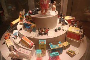 戦後の製造業に関する展示
