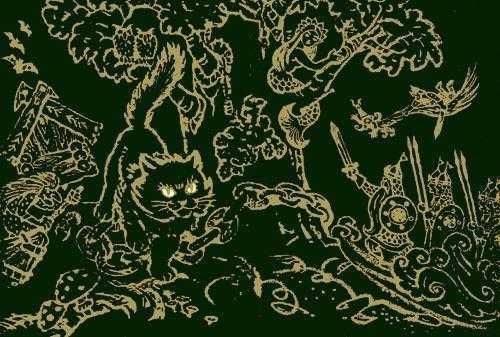 Кот по цепи кругом – У Лукоморья дуб зеленый - Пушкин ...