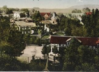 Центральна частина Трускавця, початок ХХ ст.