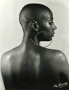Ken Ramsay, Susan Taylor as Model, c.1970s, Gelatin silver print, 26.5 x 20 inches, Courtesy the photographer