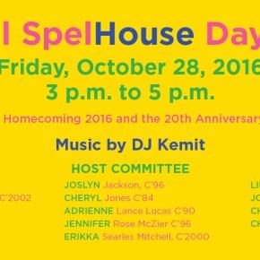 SpelHouse Homecoming Day Party – Music by DJ Kemit
