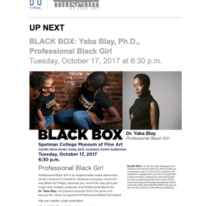 BLACK BOX: Yaba Blay, Ph.D