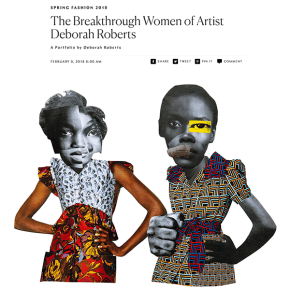 New York Magazine Review: The Breakthrough Women of Artist Deborah Roberts