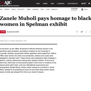 AJC Review: Zanele Muholi pays homage to black women in Spelman exhibit