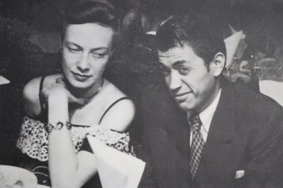 ARMANDO CAMPERO WITH FIRST WIFE ELIZ (VERONICA'S MOTHER)