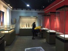 museum display cases for China Folklore Museum