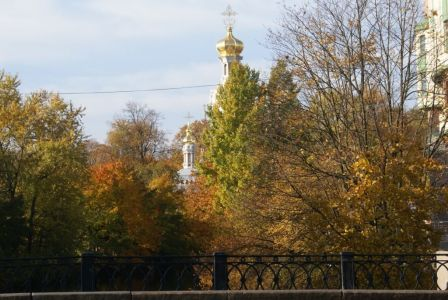 На мосту через реку Смоленка