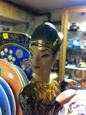 Egyptian Woman Figure