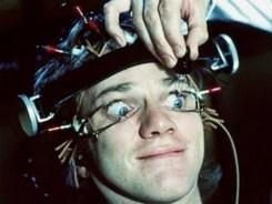 Alex gets the Ludovico technique in A Clockwork Orange (1971).