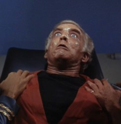"""Dr. Simon Van Gelder in """"Dagger of the Mind"""" Star Trek (1966)."""