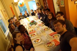 Everyone Assembled for the Meal