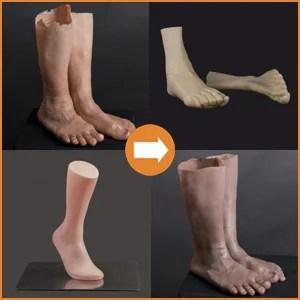 Beine & Füße