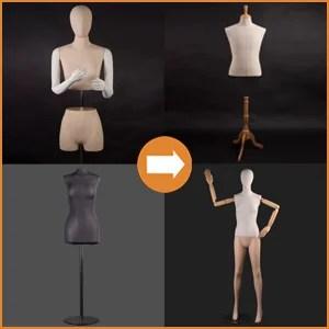 Dress forms & torsos