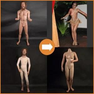 Siliconen lichamen
