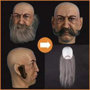 Beards & moustaches