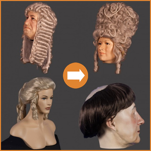 Theatre & cosplay wigs